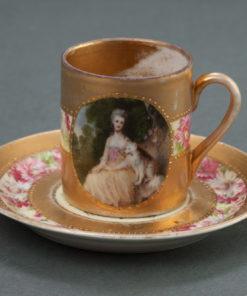 Кофейная чашечка XIX века.