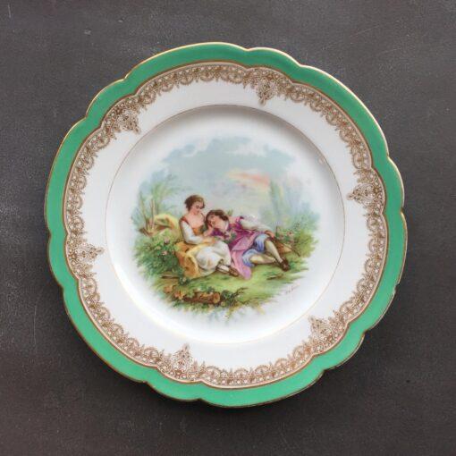 Тарелка Sevrés, XIX век, Франция.