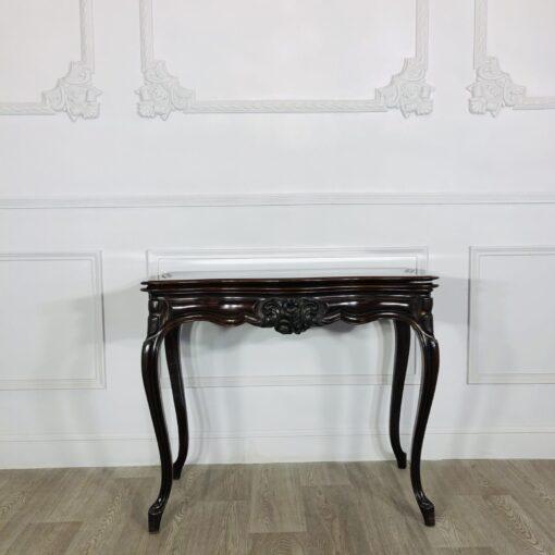 Антикварный игральный столик-консоль рубежа XIX-XX веков из Франции.