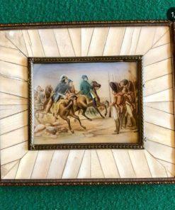 Миниатюра XIX века Франция.