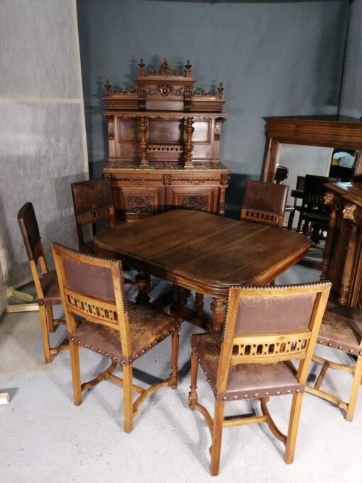 старинный столовый гарнитур
