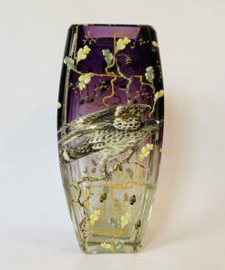 Ваза Moser, конец XIX в., чешский хрусталь. Редкость. Коллекционный предмет.