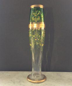 Ваза из хрусталя с ручной росписью,XX век, Европа