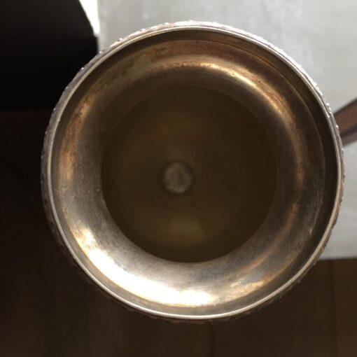 Вазочка, серебрение, начало XX века, Франция