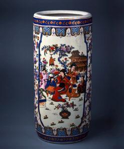Зонтница антикварная фарфоровая из Китая, XX век.