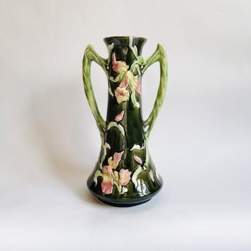 Большая антикварная ваза, стиль Ар Нуво, начало XX века, Франция.