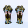 Пара ваз Ар-нуво начала XX века Франция.