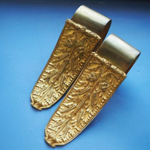 Прихваты для штор, конец XIX века, бронза