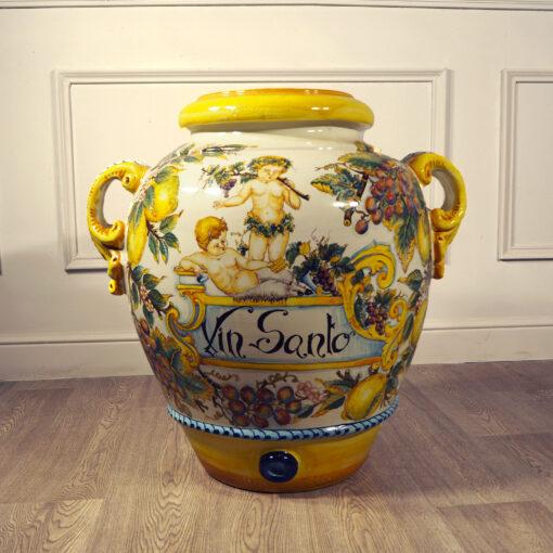Большой декоративный кувшин для вина 1960-х г.