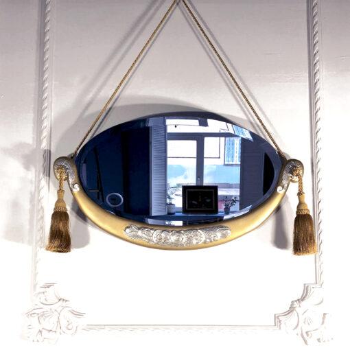 Настенное зеркало в стиле модерн начала XX века Франция.