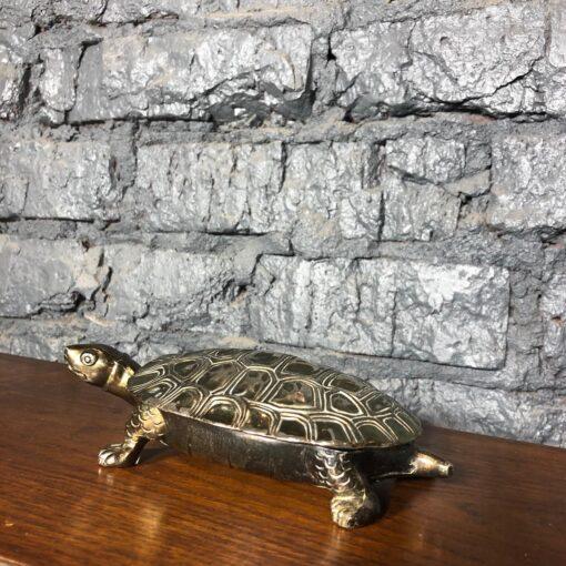 Черепаха-шкатулка, первая половина XX века, Франция.