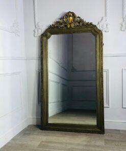 Зеркало оливкового цвета XIX-XX в