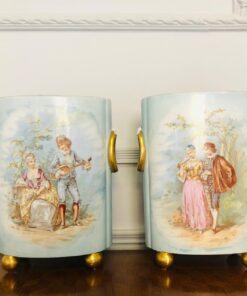 Пара лиможских ваз. XX век, Франция