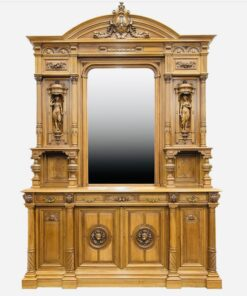 Дрессуар большой с зеркалом XIX в