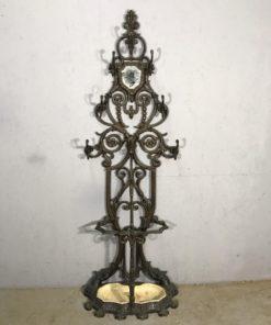 Чугунная вешалка XIX-XX века