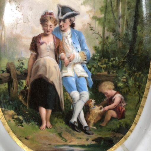 Блюдо XIX века Франция