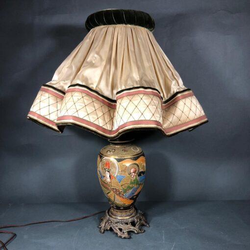Лампа первой половины XX века в восточном стиле