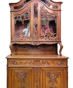 Парные антикварные буфеты льежской мануфактуры, 19 век, Франция.