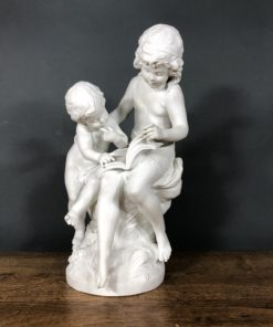 """Скульптура """"Дети читают"""" Limoges, Moreau."""