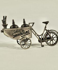 Серебряная миниатюра мороженицы Sammontana Италия