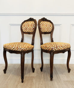 Пара стульев в стиле Людовика XV. XIX-XX век, Франция