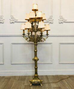 Торшер рубежа XIX-XX веков, Франция.