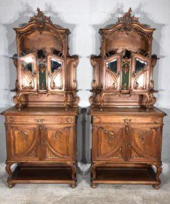 Парные буфеты XIX века Liege.