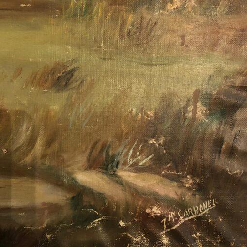Картина «На охоте» 1950-1960 гг Испания.