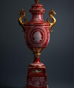 старинная ваза фарфор