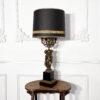 Большая настольная лампа антикварная