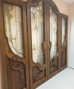 антикварная дверь