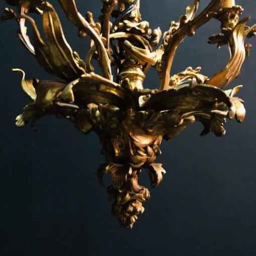 Люстра бронзовая ХIХ века,Франция.
