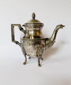 Кофейник серебрение XIX-XX века, Франция.