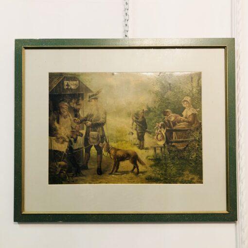 Парные работы «Охота» 1960х годов XX века, Франция.