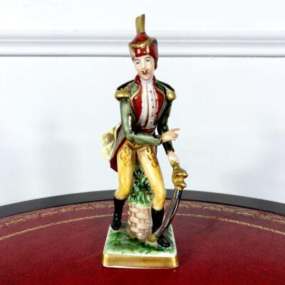 Фарфоровая статуэтка из коллекции «Армия Наполеона I» второй половины XX века, Германия.