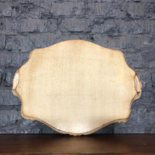 Большой деревянный поднос начала XX века, Италия.