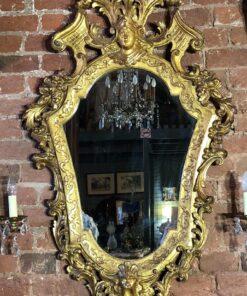 Роскошное БОЛЬШОЕ зеркало XIX века, Франция.
