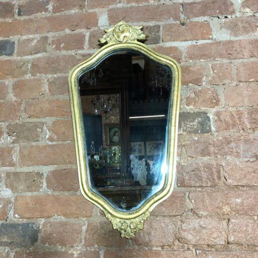 Зеркало в деревянной раме начала XX века, Франция.