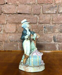 Фарфоровая статуэтка середины XX века Испания.
