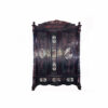 Уникальный асимметричный палисандровый шкаф с перламутровой инкрустацией, XIX век, Китай Размер 180х50Х250 см.