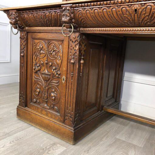 Огромный Письменный стол 1901 года, Франция.