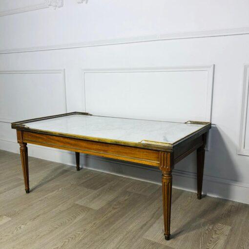 Низкий журнальный стол начала XX века, Франция.