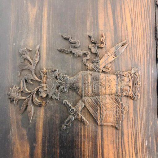 Очень редкий асимметричный шкаф XIX века, Китай.