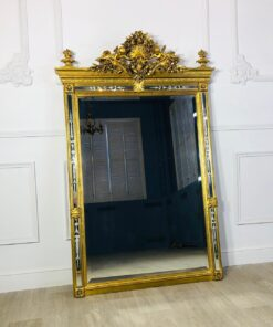 Большое каминное зеркало первой половины XX века, Франция.