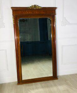 Каминное зеркало антикварное первой половины XX века, Франция.