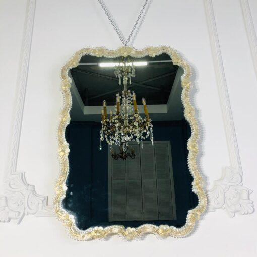 Прелестнейшее венецианское зеркало середины XX века, Италия.