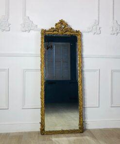 Узкое, высокое зеркало XIX-XX века, Франция.
