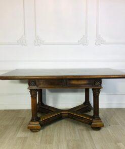 Большой обеденный стол с колоннами конца XIX века, Франция.