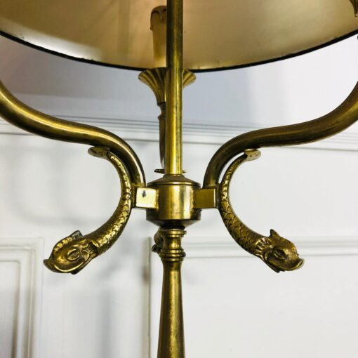 Большая изящная лампа в стиле Ампир первой половины XX века, Франция.