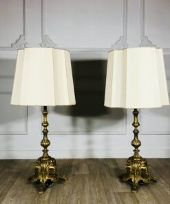 Парные большие лампы начала XX в Франция